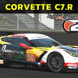 rFactor 2 - Corvette C7.R at Circuit Bugatti