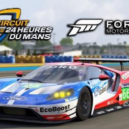 Forza 6 | 2016 Ford GT Le Mans @ Circuit de la Sarthe Le Mans