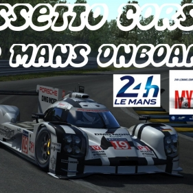 Assetto Corsa // 24h Le Mans 2016 start today.. // Porsche LMP1 2015 onboard lap