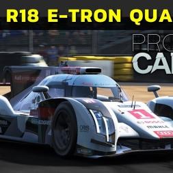Project Cars - Audi R18 E-Tron Quattro at Le Mans