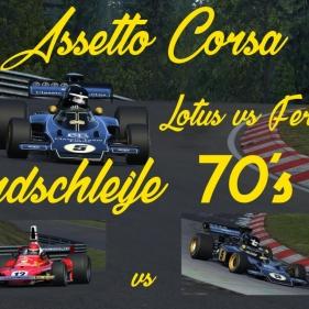 Assetto Corsa // Lotus 72D vs Ferrari 312T // Nordschleife