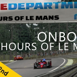 24 Hours of Le Mans   RaceDepartment   Hell Racing Team P2   Night OnBoard