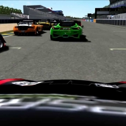 PSRL WEC 2013 - Le Mans 12h - Start + Battle