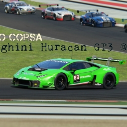 [1440P] Assetto Corsa - Lamborghini Huracan GT3 | Imola - Ultra