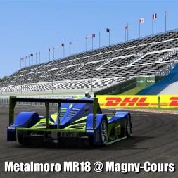 Metalmoro MR18 @ Magny-Cours - Automobilista 60FPS