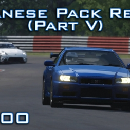 Assetto Corsa: Nissan Skyline GT-R R34/370z Nismo | Japanese Pack Review Part V - Episode 100