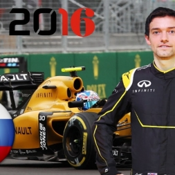 F1 2016 Russian GP Jolyon Palmer Career Mode