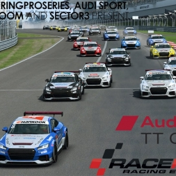 Audi Sport TT Cup Online Series 2016 - Round 01 Highlights