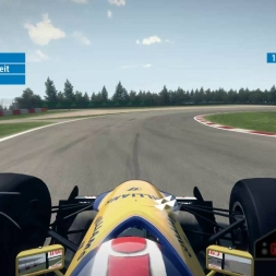 F1 2013 Nürburgring Williams FW14 1:29.809 + Setup