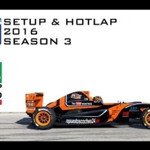 iRacing Formula Renault 2.0 @ Phillip Island | Setup & Hotlap 1'26.865 | Season 3 - 2016