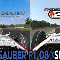 Automobilista X rFactor 2 : BMW Sauber F1.08 (F1 2008) @ Suzuka
