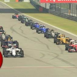 F1 2016 Chinese GP TV Style Series