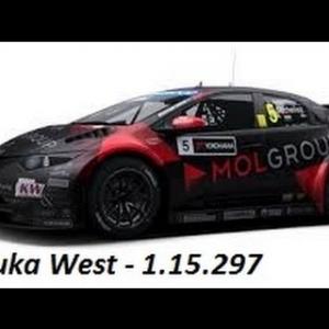 RaceRoom setups- WTCC14 Honda - Suzuka West - 1.15.297 LD*