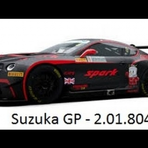 RaceRoom Setups - GT3 Bentley - Suzuka Grand Prix - 2.01.804 LD*