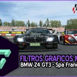 RACEROOM RACING EXPERIENCE | FILTROS GRAFICOS MOLONES | BMW Z4 GT3 - SPA FRANCORCHAMP | ESPAÑOL HD.