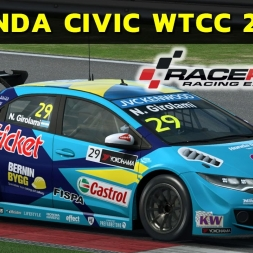 Raceroom - Honda Civic WTCC 2015 at Portimão
