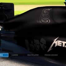 F1 2014 - 2016 Season MOD - Metallica Fan Fantasy Black Album