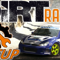 DiRT Rally Top 95 w/ Controller - Ford Focus - Monaco - Mods - 1440p