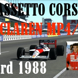 Assetto Corsa // Mclaren MP4/4 // Paul Ricard 1988 // Footcam