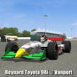 Reynard Toyota 98i @ Vanport - Automobilista 60FPS