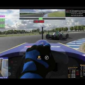 iRacing AOR Formula Renault 2.0 - Round 2 at Phillip Island