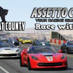Assetto Corsa   Singleplayer   Chevrolet Corvette C7 Stingray @ Black Cat County