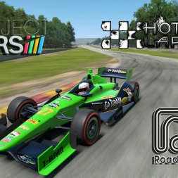 Project Cars *  Road America * Dallara DW12 Indycar * hotlap