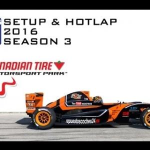 iRacing Formula Renault 2.0 @ Canadian Tire | Setup & Hotlap 1'14.656 | Season 3 - 2016
