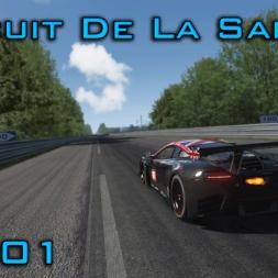 Assetto Corsa: Circuit De La Sarthe (Le Mans) [MOD] - Episode 101