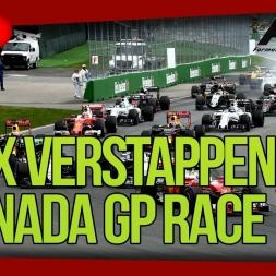 Max Verstappen F1 2016 Canada GP (F1 2014 game)