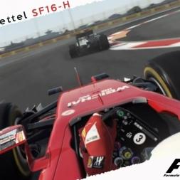F1 2016 Mod Sebastian Vettel SF16-H Onboard Cam at Sochi Russian GP