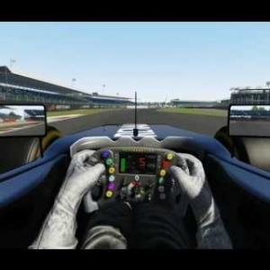 Assetto Corsa Renault F1 2016 @ Silverstone Race setup