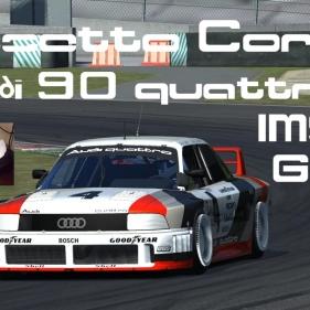 Assetto Corsa // Heel & Toe // Audi 90 Quattro IMSA GTO // Mugello