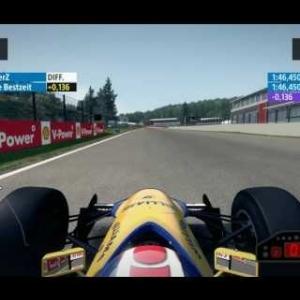 F1 2013 Spa Williams FW14 1:46.450 + Setup