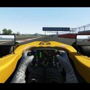 Renault f1 2016 @ Silverstone 1.33:045 HotLap on board