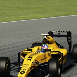 Renault f1 2016 @ Silverstone 1.33:045 HotLap