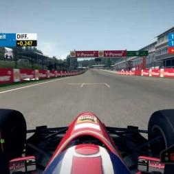 F1 2013 Spa Ferrari 92A 1:46.698 + Setup