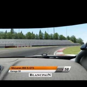 Blancpain Sprint Series | McLaren 650s GT3 onboard Nürburgring Sprint | Assetto Corsa