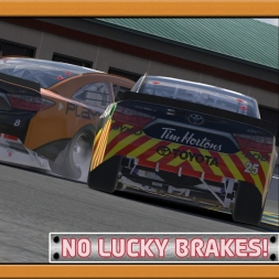 """iRacing: No Lucky Brakes!"" (NIS Round 17/36 - Toyota Save Mart 175)"