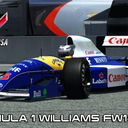 New Williams FW14 1991 @ Road America - Assetto Corsa Mods