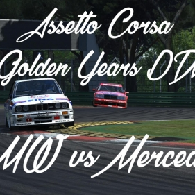 Assetto Corsa // DTM 1992 // BMW M3 E30 vs Mercedes 190E evo 2 // Heel and Toe