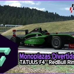 RACEROOM RACING EXPERIENCE | MONOPLAZAS DIVERTIDOS | TATUUS F4 - REDBULL RING | ESPAÑOL HD.