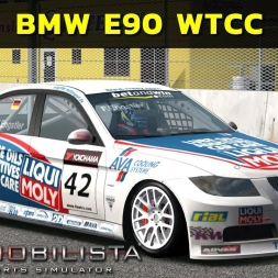 Automobilista - BMW E90 WTCC at Queensland Raceway