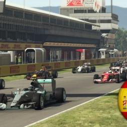 F1 2016 Spanish GP TV Style Series