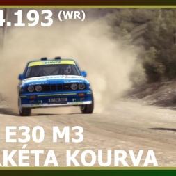 Dirt Rally - BMW E30 M3 - Fourkéta Kourva (WR)
