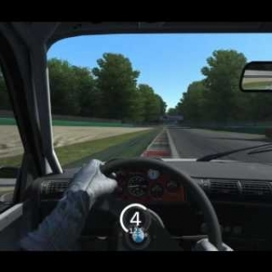 Assetto Corsa - BMW M3 E30 Group A @ Monza ♦ 2:07.097