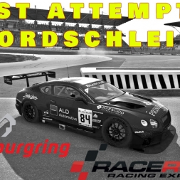R3E | Bentley Continental GT3 @ Nordschleife | TV + Onboard