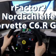 rFactor2 - Nordschleife - Corvette C6.R GT2 - Training Day