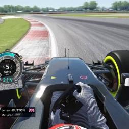 Assetto Corsa F1 2016 Button Onboard Silverstone