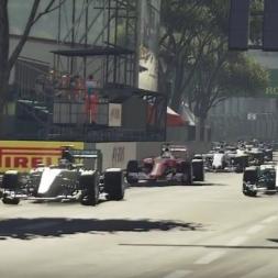 F1 2016 Monaco GP TV Style Series